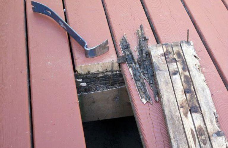 房主们注意了!房屋木头腐烂会导致房子倒塌