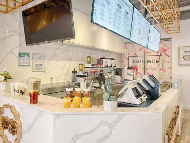 Toronto Bubble Tea Shop Renovation