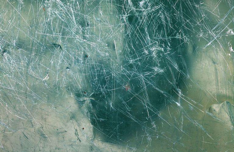 如何消除玻璃划痕