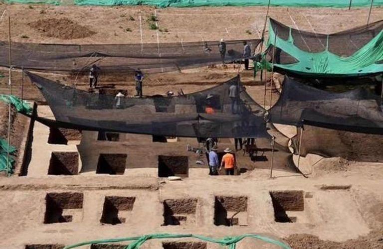清华大学校内发现古墓 含87座明清墓和5座汉墓