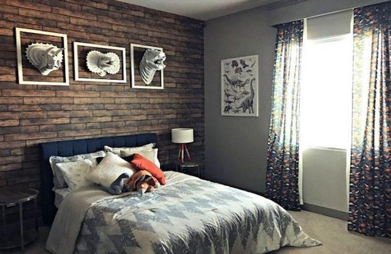 侏罗纪公园主题卧室,满满的创意满满的爱!