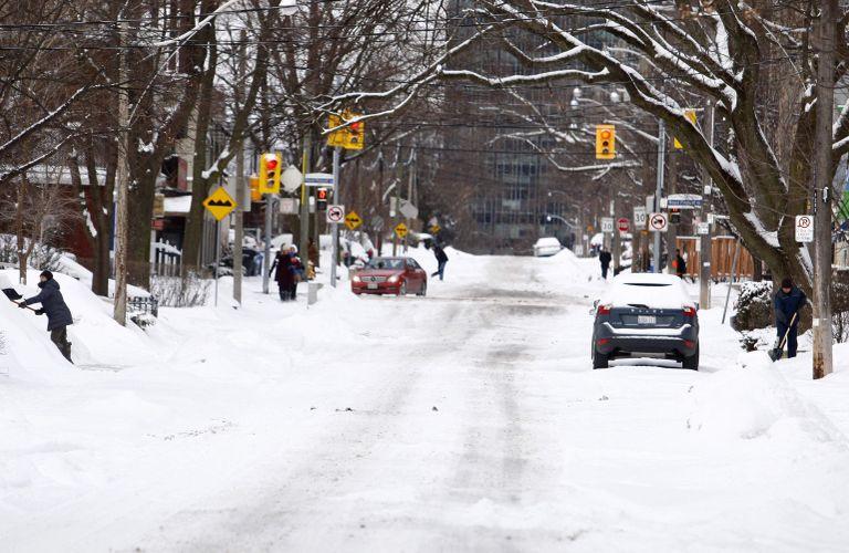 周末安省部分地区或迎来20cm降雪!大多地区可能有大暴雨!