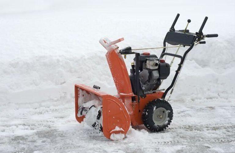 铲雪机维修与维护方法大全!