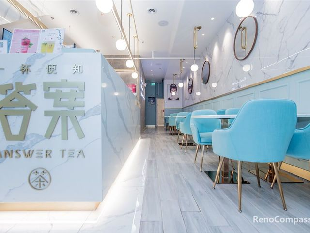 Toronto Bubble Tea Commercial Renovation