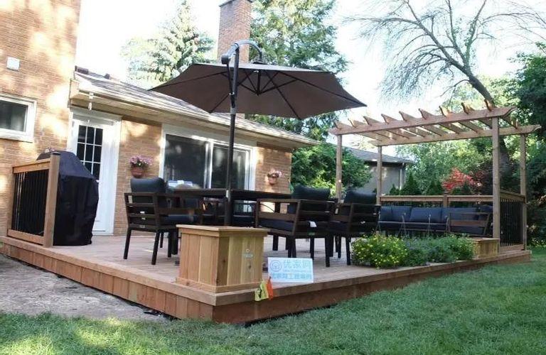 后院露台怎么设计即实用又好看?11种花园露台设计构思供你选!